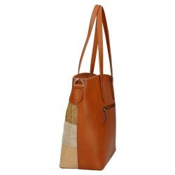 sac cabas marron - David Jones