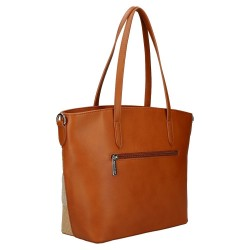 sac cabas marron