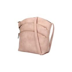 Sac à bandoulière multi poche rose femme