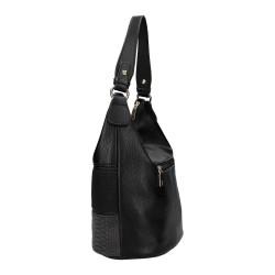 sac a main porté épaule noir femme Marque Am