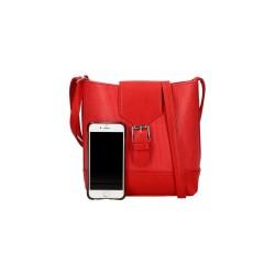 Petite sacoche rouge - sac à main femme