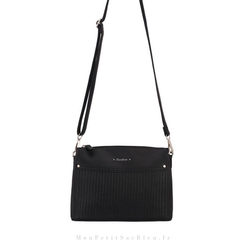 sac à main bandoulière noir pour femme