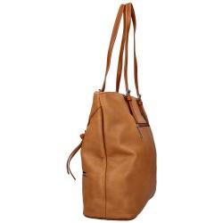 sac cabas cuir marron