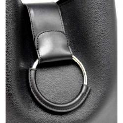 Anneau du sac à main noir original