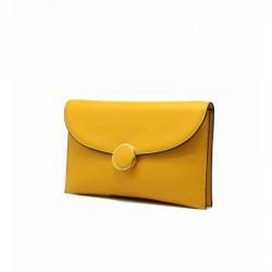 Mini sac à rabat - Jaune