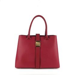 sac à main rouge tendance