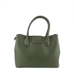 sac à main Parisac de couleur vert kaki