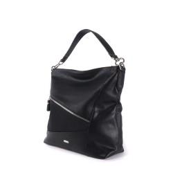 sac à main noir avec fermeture éclair