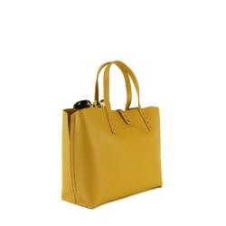 sac femme jaune moutarde