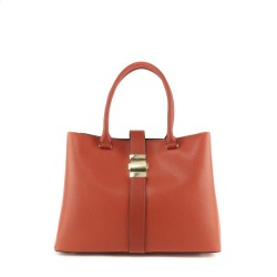 sac à main corail - sac à main moderne - sac à main original