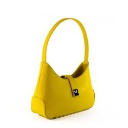 Sac à main jaune porté main original et pas cher pour femme